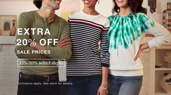 Macy's Presidents Day Sale TV Spot, 'Extra 20%, Levi's and Sectional' - Thumbnail 3