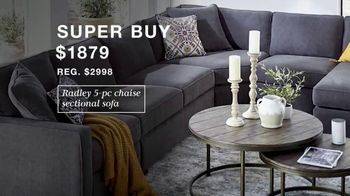 Macy's Presidents Day Sale TV Spot, 'Extra 20%, Levi's and Sectional' - Thumbnail 6