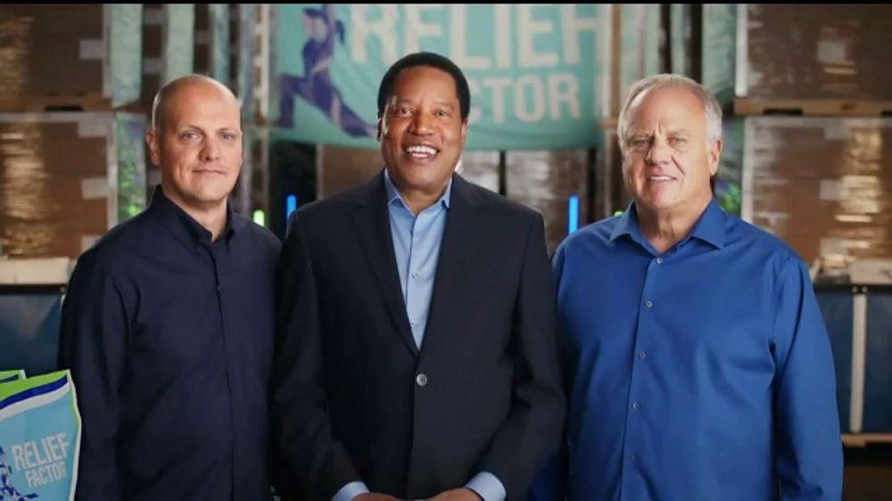 Relief Factor Quickstart TV Commercial, 'Doctor' Featuring Larry Elder