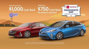 Toyota Presidents Day Sales Event TV Spot, 'Cherry Tree: Prius' [T2] - Thumbnail 4