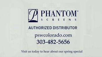 Phantom Retractable Screens TV Spot, 'Screens That Disappear: $565 Installation' - Thumbnail 8