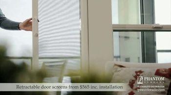 Phantom Retractable Screens TV Spot, 'Screens That Disappear: $565 Installation' - Thumbnail 2
