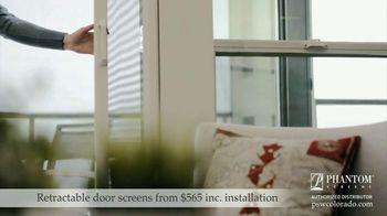 Phantom Retractable Screens TV Spot, 'Screens That Disappear: $565 Installation' - Thumbnail 3