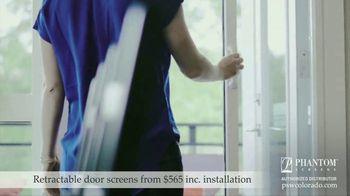 Phantom Retractable Screens TV Spot, 'Screens That Disappear: $565 Installation' - Thumbnail 4