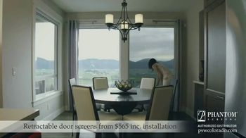 Phantom Retractable Screens TV Spot, 'Screens That Disappear: $565 Installation' - Thumbnail 6