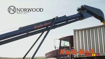 Norwood Sales Kwik-Belt TV Spot, 'Fast & Efficient' - Thumbnail 1
