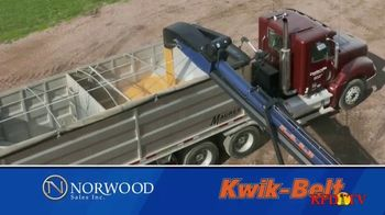 Norwood Sales Kwik-Belt TV Spot, 'Fast & Efficient'