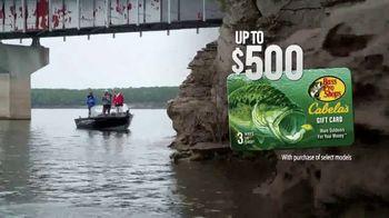 Tracker Boats Deep V TV Spot, 'More Than a Fishing Platform: $500 Gift Card' Song by Alan Paul Ett, Jeff Edwards - Thumbnail 10