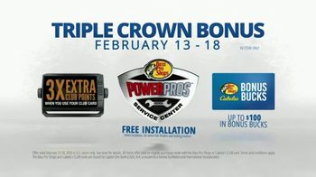 Bass Pro Shops TV Spot, 'Triple Crown Bonus' - Thumbnail 7