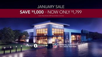 Sleep Number January Sale TV Spot, 'Sleep Number 360 Special Edition Smart Bed' Feat. Dak Prescott - Thumbnail 9