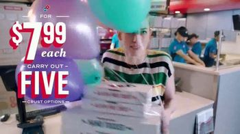 Domino's TV Spot, 'Five Crust Options for $7.99: Birthday' - Thumbnail 4