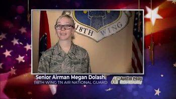 Austin Peay State University TV Spot, 'Holidays: Megan Dolash' - Thumbnail 1