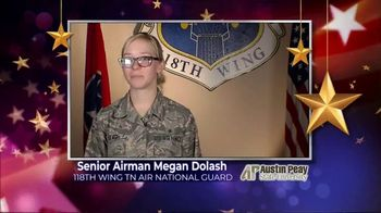 Austin Peay State University TV Spot, 'Holidays: Megan Dolash' - Thumbnail 2