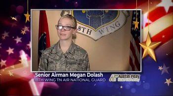 Austin Peay State University TV Spot, 'Holidays: Megan Dolash' - Thumbnail 3