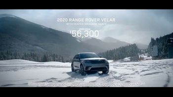 2020 Range Rover Velar TV Spot, 'Heated Massage Seats' Featuring Bryce Bennett, David Wise [T1]