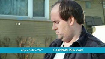 CashNetUSA TV Spot, 'Man Vs. Flat Tire' - Thumbnail 3