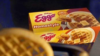 EGGO Homestyle Waffles TV Spot, 'Todo listo para un lanzamiento muy delicioso' [Spanish] - Thumbnail 1