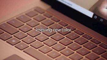 Microsoft Surface Laptop 3 TV Spot, 'Drawn to Creativity' Song by Minnie Riperton - Thumbnail 5
