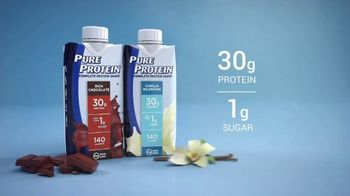 Pure Protein TV Spot, 'Make Fitness Routine: Shakes' - Thumbnail 10
