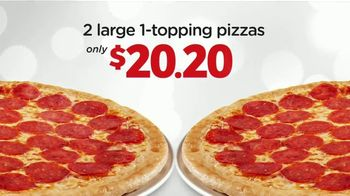 Peter Piper Pizza Double Up 2020 Deal TV Spot, 'Doubly Delicious'