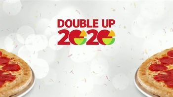 Peter Piper Pizza Double Up 2020 Deal TV Spot, 'Doubly Delicious' - Thumbnail 2