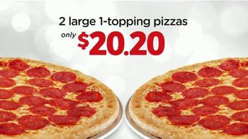Peter Piper Pizza Double Up 2020 Deal TV Spot, 'Doubly Delicious' - Thumbnail 8