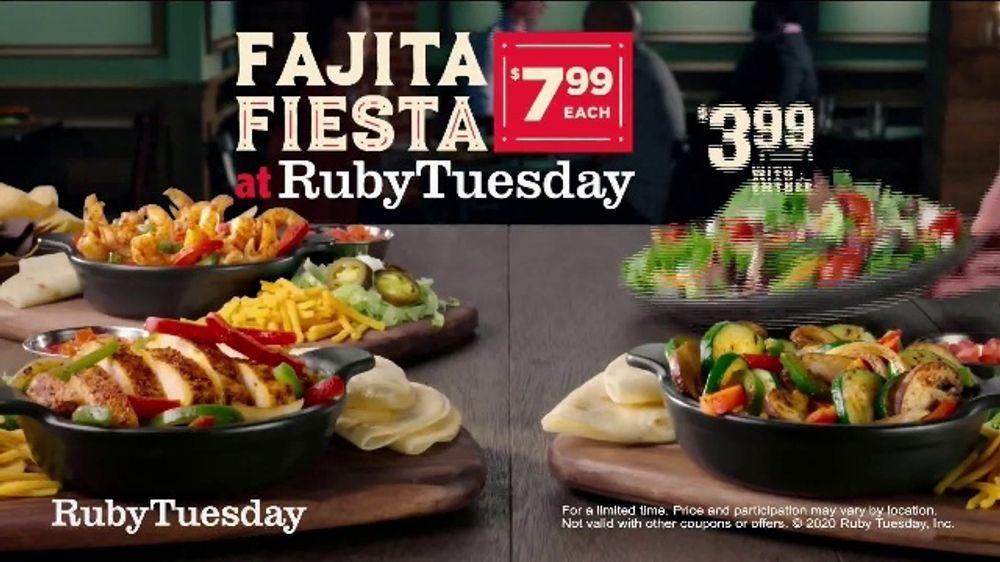 Ruby Tuesday Fajita Fiesta Tv Commercial Feel Like A