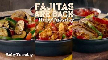 Ruby Tuesday Fajita Fiesta TV Spot, 'Feel Like a Fiesta' - Thumbnail 1