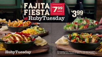 Ruby Tuesday Fajita Fiesta TV Spot, 'Feel Like a Fiesta' - Thumbnail 6