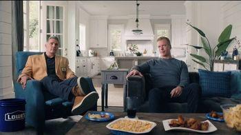 Lowe's TV Spot, 'Rod Pod: Kobalt Tool Set' Ft. Kurt Warner, Rodney Harrison, Chris Simms - 15 commercial airings