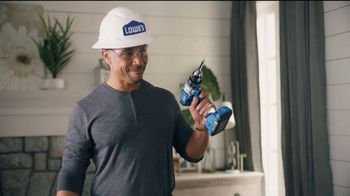 Lowe's TV Spot, 'Rod Pod: Kobalt Tool Set' Ft. Kurt Warner, Rodney Harrison, Chris Simms - Thumbnail 9