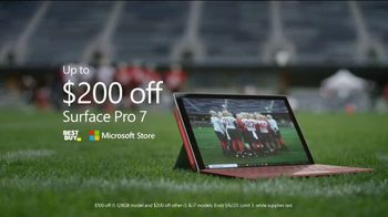 Microsoft Surface Pro 7 TV Spot, 'Your Dream Is Coming: $200 Off' Featuring Katie Sowers - Thumbnail 9