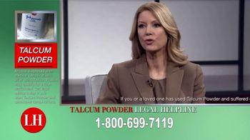 Onder Law Firm TV Spot, 'Talcum Powder Concerns'