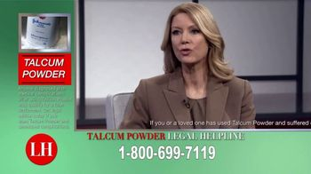 Onder Law Firm TV Spot, 'Talcum Powder Concerns'