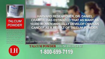 Onder Law Firm TV Spot, 'Talcum Powder Concerns' - Thumbnail 3