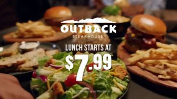 Outback Steakhouse Aussie 4-Course Meal TV Spot, 'With Lunch' - Thumbnail 7