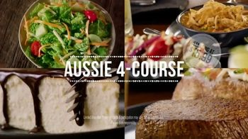 Outback Steakhouse Aussie 4-Course Meal TV Spot, 'With Lunch' - Thumbnail 3