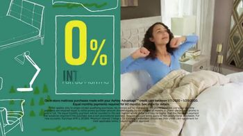 Ashley HomeStore Sale & Clearance Mattress Event TV Spot, 'Tempur-Pedic and Ashley Cash' Song by Midnight Riot - Thumbnail 3