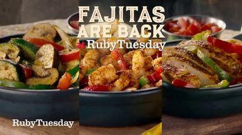 Ruby Tuesday Fajita Fiesta TV Spot, 'Like There's No Manana'