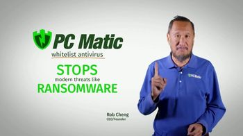 PCMatic.com TV Spot, 'Rob Cheng: Stops Ransomware' - 16 commercial airings