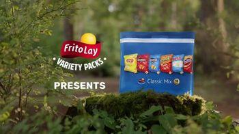 Frito Lay Variety Packs TV Spot, 'Mom Fantasies: Family Camp Out' - Thumbnail 1