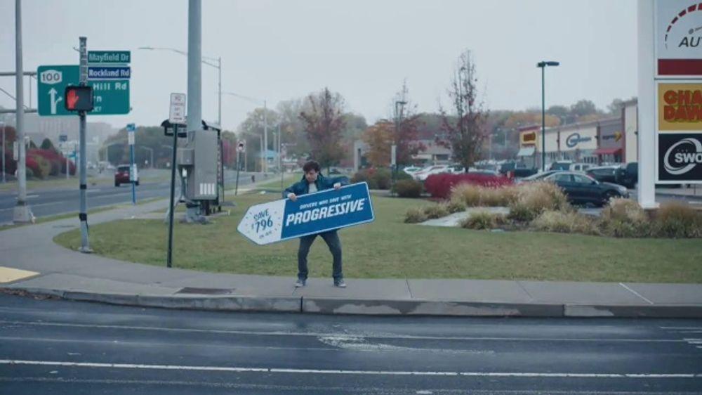 Progressive TV Commercial, 'Sign Spinner: Directions'