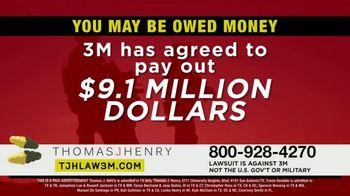 Thomas J. Henry Injury Attorneys TV Spot, 'Combat Arms Earplugs: 3M Payout' - Thumbnail 3