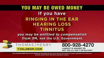 Thomas J. Henry Injury Attorneys TV Spot, 'Combat Arms Earplugs: 3M Payout' - Thumbnail 5