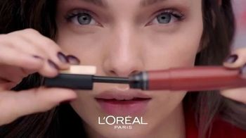 L'Oreal Paris Cosmetics Rouge Signature TV Spot, 'Sign Your Lips' Featuring Luma Grothe - Thumbnail 2