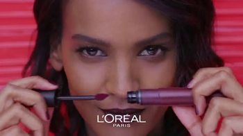 L'Oreal Paris Cosmetics Rouge Signature TV Spot, 'Sign Your Lips' Featuring Luma Grothe - Thumbnail 4