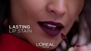L'Oreal Paris Cosmetics Rouge Signature TV Spot, 'Sign Your Lips' Featuring Luma Grothe - Thumbnail 5