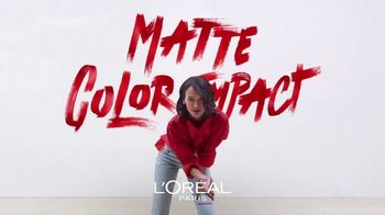 L'Oreal Paris Cosmetics Rouge Signature TV Spot, 'Sign Your Lips' Featuring Luma Grothe - Thumbnail 6