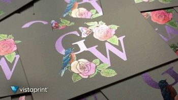 Vistaprint TV Spot, 'Own The Now: Business Cards Artfully Designed' Song by Norman