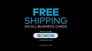 Vistaprint TV Spot, 'Own The Now: Business Cards Artfully Designed' Song by Norman - Thumbnail 8